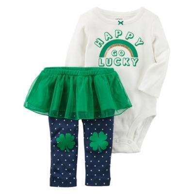 Carter's St Patrick's Day 2-pc. Legging Set-Baby Girls