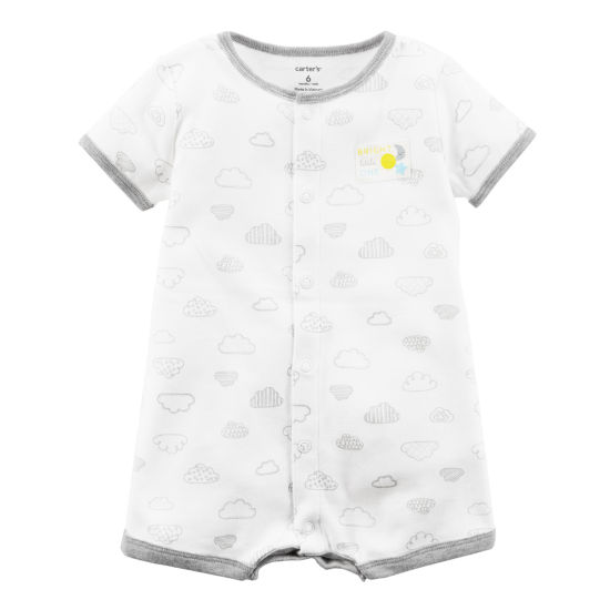 Carter's Short Sleeve Romper - Baby Boy