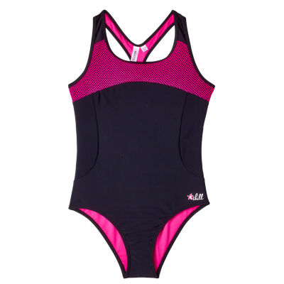 Big Chill One Piece Swimsuit Big Kid Girls