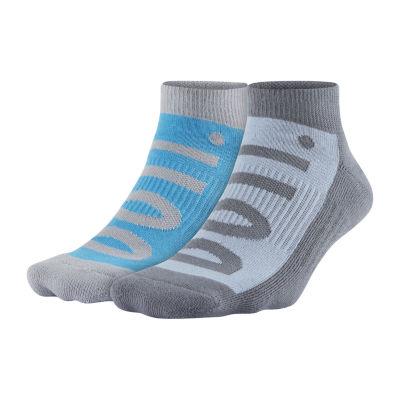 Nike® 2-pk. Mens No Show Socks - Extended Size