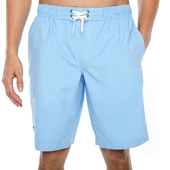 c8c9d75f10 St Johns Bay Solid Cargo Swim Shorts JCPenney