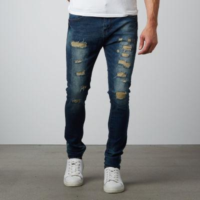 TR Premium Stylish Skinny Fit Men's Denim Jeans