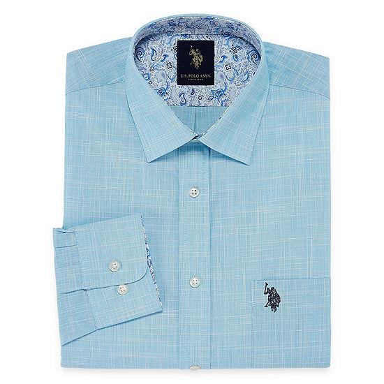 U.S. Polo Assn. Dress Shirt Long Sleeve Dress Shirt - Slim