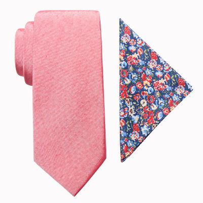 JF J.Ferrar Floral Tie Set