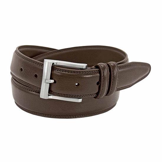 Florsheim® Pebble Grain Leather Belt