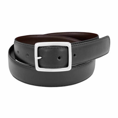 Florsheim Feather Edge Leather Belt - Big and Tall