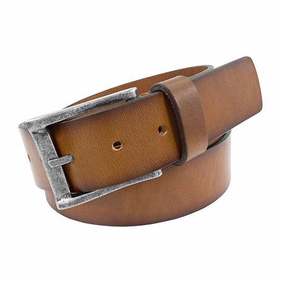 Florsheim® Burnished Saddle Leather Casual Belt
