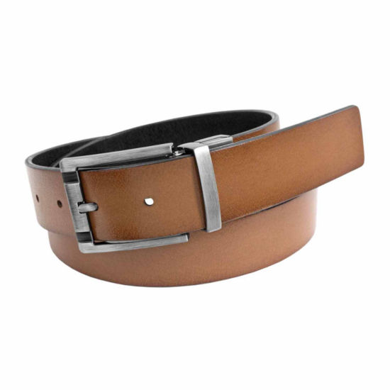Florsheim Reversible Burnished Leather Belt