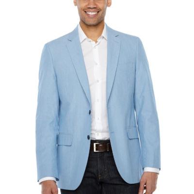 Stafford Classic Fit Woven Stripe Sport Coat