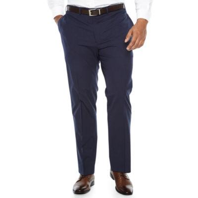 Van Heusen Grid Stretch Slim Fit Suit Pants - Big and Tall