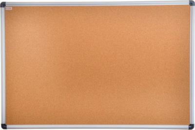 Viztex Cork Bulletin Board with Aluminum Trim