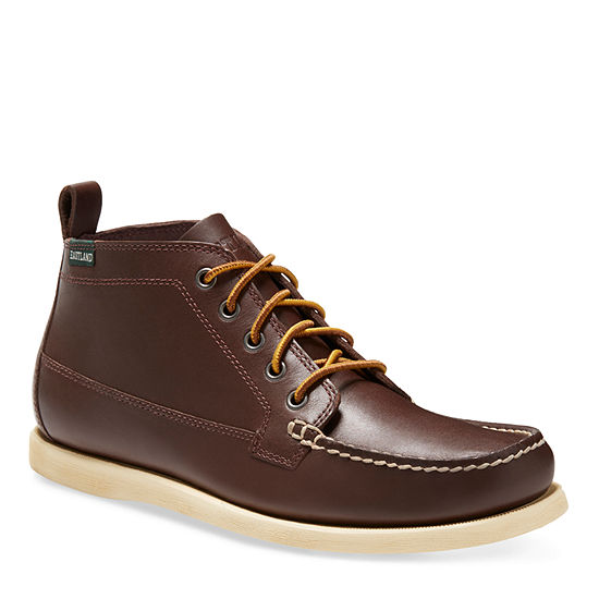 Eastland Mens Seneca Flat Heel Lace-up Chukka Boots