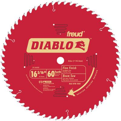 Diablo D1660X 16-5/6IN 60T Diablo Fine Finish WorkBeam Saw Blade