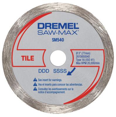 Dremel Sm540 3IN Tile Diamond Wheel