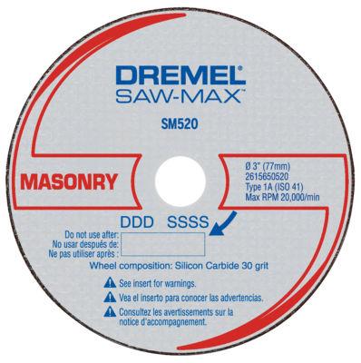 Dremel Sm520C 3IN Masonry Cut-Off Wheel