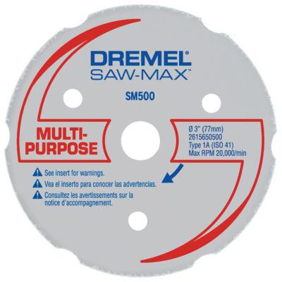 Dremel Sm 500 3IN Multi-Purpose Carbide Wheel
