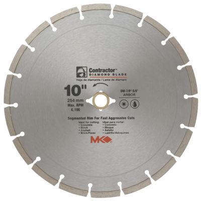 "Mk Diamond 167017 10"" Contractor Diamond Blade"