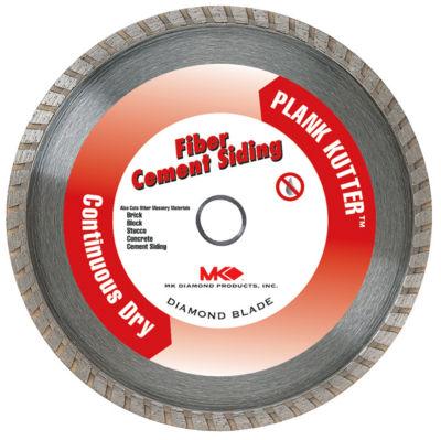 "Mk Diamond 157420 7"" Plank Kutter Fiber Cement Siding Continuous Dry Blade"