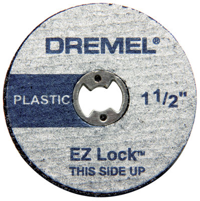 "Dremel Ez476 1-1/2"" Ez Lock Reinforced Cut Off Wheel 5 Count"