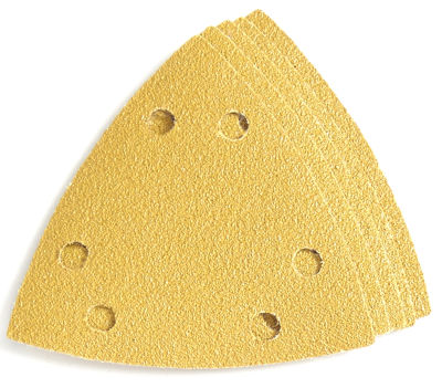 Imperial Blades Llc Ibotsph80-5 One Fit 80 Grit Triangular Sandpaper Vacuum Holes 5 Count