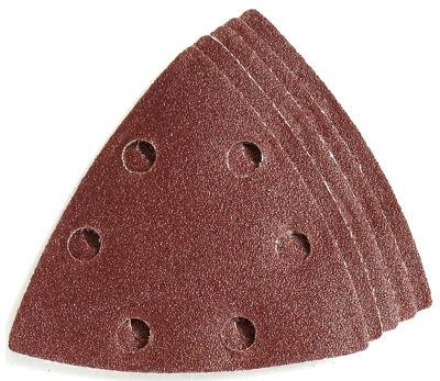 Imperial Blades Llc Ibotsph120-5 One Fit 120 GritTriangular Sandpaper Vacuum Holes 5 Count