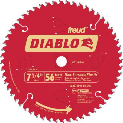 Diablo D0756N 7-1/4IN 56T Diablo Non-Ferrous & Plastic Circular Saw Blade