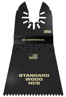 """Imperial Blades Llc Iboa250-1 2-1/2"""" One Fit FastWood Hcs Blade"""""""