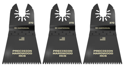 Imperial Blades Llc Iboa270-3 2-1/2IN One Fit Japanese Precision Hcs Blade 3 Count