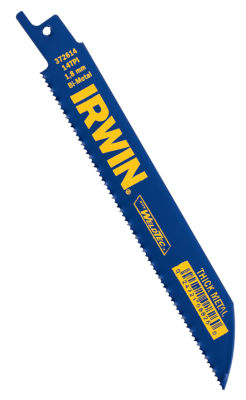 Irwin 372614P5 6IN 14 Tpi Reciprocating Saw BladePack 5 Count