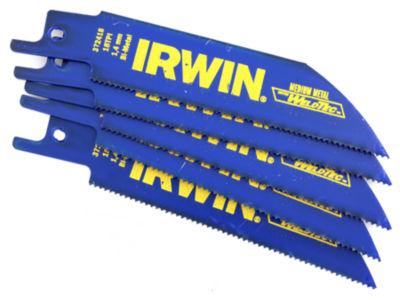 Irwin 372418P5 4IN 18 Tpi Marathon Reciprocating Saw Blade