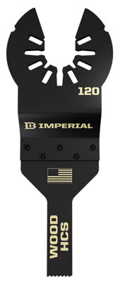 Imperial Blades Llc Iboa120-1 3/8IN One Fit DetailWood Hcs Blade