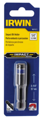 Irwin 1837577 2-1/4IN Magnetic Impact Bit Holder With C Ring