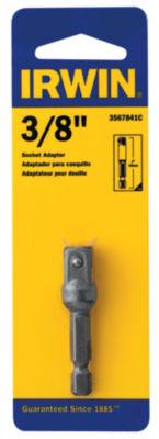 Irwin 3567841C 3/8IN X 2IN Socket Adapter