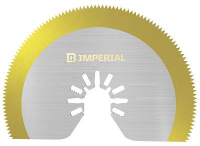 "Imperial Blades Llc Iboat410-1 3-1/8"" One Fit Segment Hss Saw Blade Tin Storm Blade"""