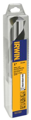 """Irwin 91164 1"""" X 6"""" Steel Fractional 1/2"""" ReducedShank Drill Bit"""