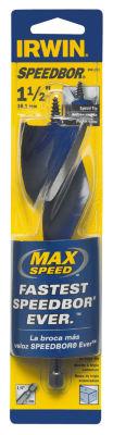 """Irwin 3041021 1-1/2"""" X 6"""" Speedbor Max Speed Drill Bit"""