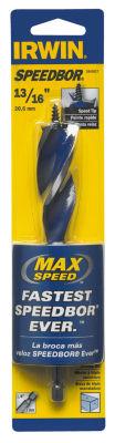 """Irwin 3041017 13/16"""" X 6"""" Speedbor¨ Max Speed Drill Bit"""""""