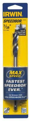 """Irwin 3041015 7/16""""  X 6"""" Speedbor¨ Max Speed Drill Bit"""""""