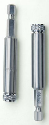 Irwin 3557181C 1/4IN Hex Shank Bit Holder With C-Ring
