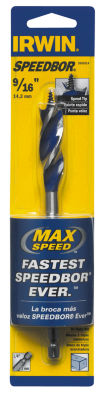 Irwin 3041014 9/16IN X 6IN Speedbor Max Speed Drill Bit