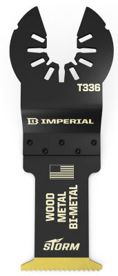 Imperial Blades Llc Iboat336-1 1-1/4IN One Fit Wood With Nails Bm Tin Storm Blade