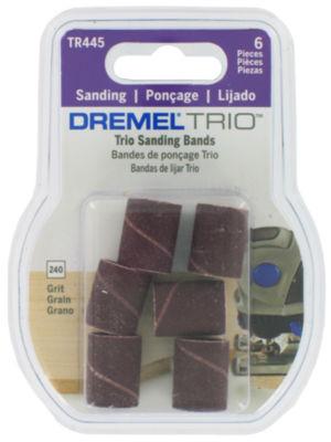 "Dremel Tr445 3/16"" 240 Grit Trioª  Sanding Bands6 Count"""