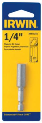 Irwin 3557121C 2-1/4IN Magnetic Steel Hex Bit Holder