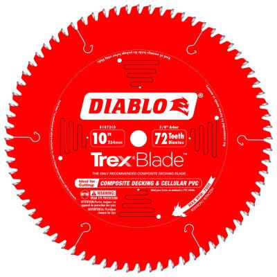 "Diablo D1072Cd 10"" 72 Tooth Circular Saw Blade"""