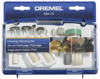 Dremel 684-01 20 Piece Set Cleaning & Polishing Bits