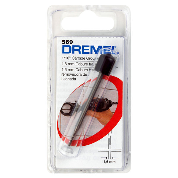 Dremel 569 1/16IN Grout Removal Bit