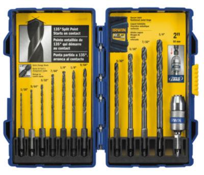 Irwin 4935643 Black Oxide Hex Shank Drill Bit Set12 Count