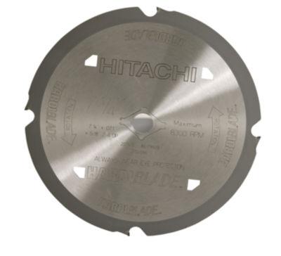 "Hitachi 18008 7-1/4"" 4 Tpi Fiber Cement Blade Circular Saw Blade"