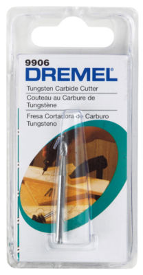 "Dremel 9906 1/8"" Tungsten Carbide Cutter"