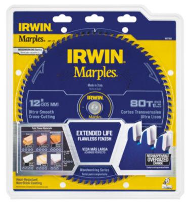 "Irwin 1807384 12"" Marples 80 Tooth Circular Saw Blade"